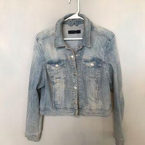 Light Blue Jeans Jacket